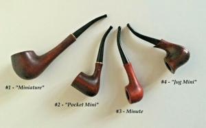 Handgeschnitzte Pfeifen aus Holz, verschiedene Arten und Größen, Unikate  - Handarbeit kaufen