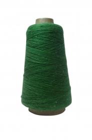 Orenburger Ziegenwolle 100% Natur, vegan, grün, aus Russ. Föderation, Kegelgewicht 150 Gramm / 2700 Meter  - Handarbeit kaufen