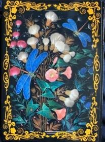 Russische Lackschatulle Blumenserie  - Handarbeit kaufen