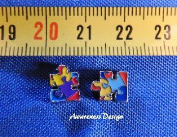Floating Charm Puzzleteil  ♥ Einleger Puzzle Autismus