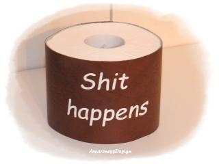 Toilettenpapierverstecker Klorollenhülle Banderole für Toilettenpapierrolle