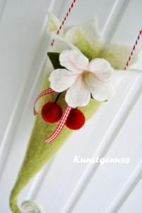 Zipfelwindlicht mit fruchtigen Kirschen