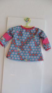 Baby - Longshirt, Gr.74/80 f. Mädchen - Handmade