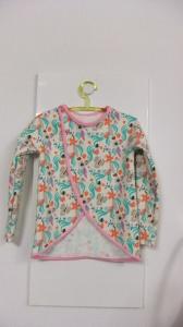 Mädchen Overshirt -Jacke,Gr.122 - Handmade
