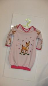 Baby - Ballonkleid f. Mädchen - Gr.80,Jersey - Handmade