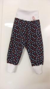 Baby -Pumphose,Gr.68 Jersey, Maritim - Handmade