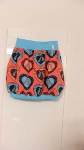 Warmer Mädchen- Ballonrock, Gr.110/116 - Handmade