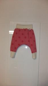 Baby-Pumphose, f. Mädchen,Gr.62 , Jersey,Handmade