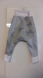 Lange Pumphose ,Gr.80 Doublesweat, Mädchen - Handmade - Einzelstück