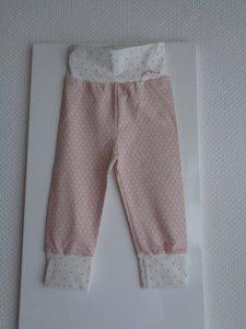 Baby-Pumphose, f. Mädchen,Gr.80, Jersey,Handmade