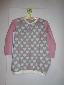 Herzige Tunika ,Gr.104,f. Mädchen - Handmade