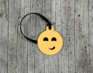 Anhänger **Nur kein Stress** von ZWEIFARBIG 3,2cm Glücksbringer Schlüsselanhänger Taschenanhänger Geschenk Einschulung Kindergarten Geburtstag - Handarbeit kaufen
