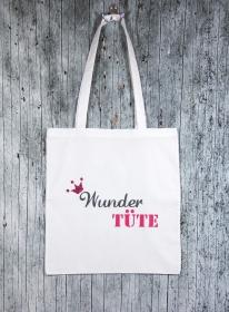 Stofftasche Wundertüte von ZWEIFARBIG Einkaufsbeutel Baumwolltasche Geburtstag Geschenk Shopper Einkaufstasche Stoffbeutel