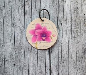 Blumenstecker Poesie10 von ZWEIFARBIG Orchidee Blickfänger Blumenschmuck homedeko Geschenk Dekoration Geburtstag Umzug