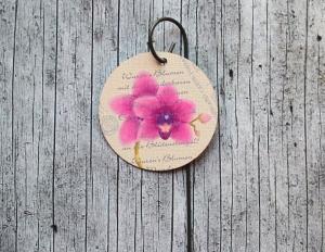 Blumenstecker Poesie10 von ZWEIFARBIG 5cm Orchidee Blickfänger Blumenschmuck homedeko Geschenk Dekoration Geburtstag Umzug - Handarbeit kaufen