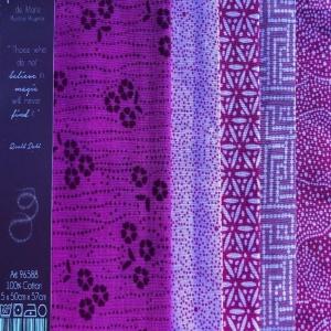 Tissu de Marie Fat Quarter - fuchsia - Handarbeit kaufen