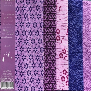Tissu de Marie Fat Quarter - lila - Handarbeit kaufen