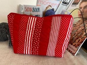 Handarbeitstasche Red Carpet - Projekttasche - Stricktasche