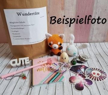 Wundertüte mit gehäkeltem Amigurumi und weiteren Artikeln - Handarbeit kaufen