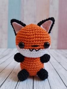 Gehäkeltes Amigurumi Fuchs aus Baumwolle  - Handarbeit kaufen