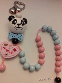 bunte Rechenkette Panda für Mädchen, Schule, Geschenk,rechnen lernen - Handarbeit kaufen