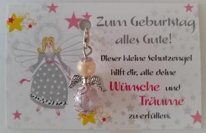 -Schutzgengel Perlenengel als kleines,aber feines Geburtstagsgeschenk  - Handarbeit kaufen