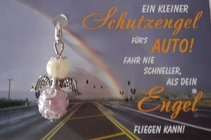-Auto Schutzengel- kleines Geschenk Mitbringsel handmade Perlenengel - Handarbeit kaufen