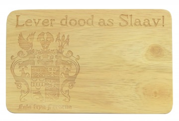Brotbrett Wappen Ostfriesland Lever dood as Slaav