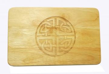 Brotbrett Keltischer Knoten Gravur Holz Kelten