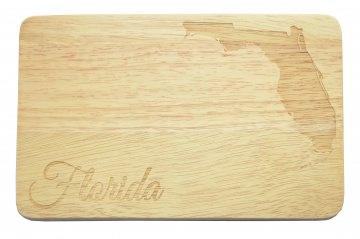 Brotbrett Florida USA Gravur Frühstücksbrett United States
