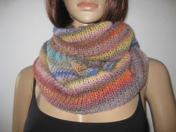 Loop, Schlauchschal, Schal, gestrickt, in tollen Farben