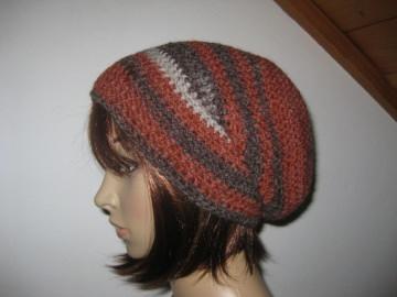 Mütze, Beanie im Boshi Style, Häkelmütze mit Farbverlauf - Handarbeit kaufen