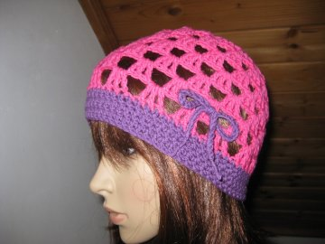 Mütze, luftige Sommer-Mütze aus elastischer Baumwolle