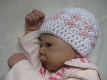 Babymütze, Neugeborenenmütze, Wintermütze aus weicher Wolle  - Handarbeit kaufen