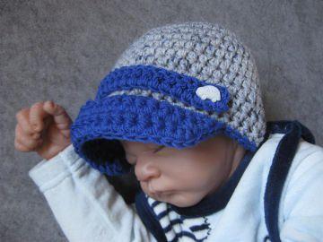 Babymütze, Neugeborenenmütze, Wintermütze aus weicher Wolle