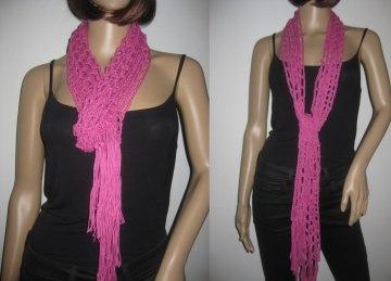 Schmuckschal, Schal aus Leinen und Baumwolle, auf viele Arten tragbar