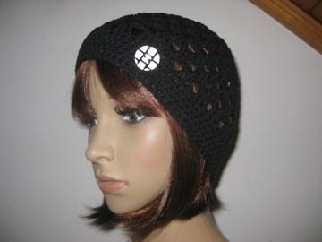 Mütze, luftige Sommer-Mütze aus dünner elastischer Baumwolle