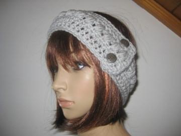 Stirnband, größenverstellbar, Ohrwärmer, Haarband - Handarbeit kaufen