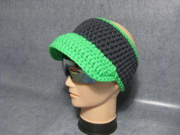 Stirnband mit Schild, Ohrwärmer aus dicker Wolle