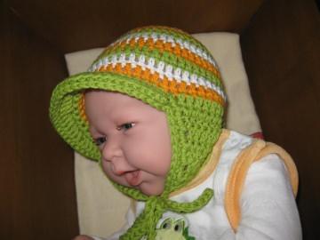 Babymütze, Neugeborenenmütze, Sommermütze aus Baumwolle  - Handarbeit kaufen