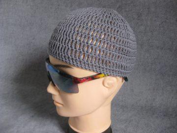Männermütze extrakurz (ohrfrei) und extraluftig, Mütze, aus Baumwolle mit Elasthan