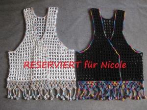 RESERVIERT für Nicole: 2 Westen