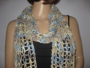 Schal, Stola mit hübschem Muster, Schmuckschal - Handarbeit kaufen