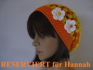 RESERVIERT für Hannah: Mütze, luftige Sommer-Mütze