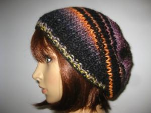Mütze, Beanie, Strickmütze, leicht und in tollen Farben - Handarbeit kaufen