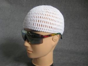 Männermütze extrakurz (ohrfrei) und extraluftig, Mütze, aus Baumwolle mit Elasthan - Handarbeit kaufen