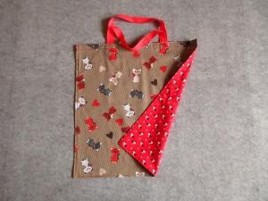 Einkaufstasche, Einkaufbeutel, Baumwolltasche, Beutel, Tasche, Katzen - Handarbeit kaufen
