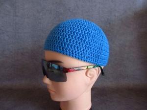 Männermütze extrakurz (ohrfrei) Gr. L/XL, Mütze, aus Baumwolle mit Elasthan