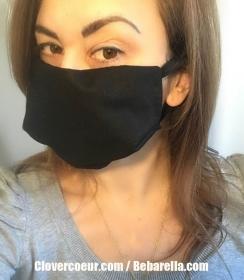 Mundbedeckung Gesichtsmaske Maske Gesicht Mund 100% Baumwolle Mundmaske Herren Männer Frauen Damen Unisex Öko-tex