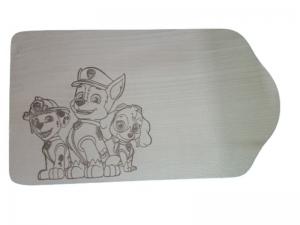 Frühstücksbrettchen Paw Patrol - Handarbeit kaufen